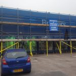 Scaffolding, scaffold construction