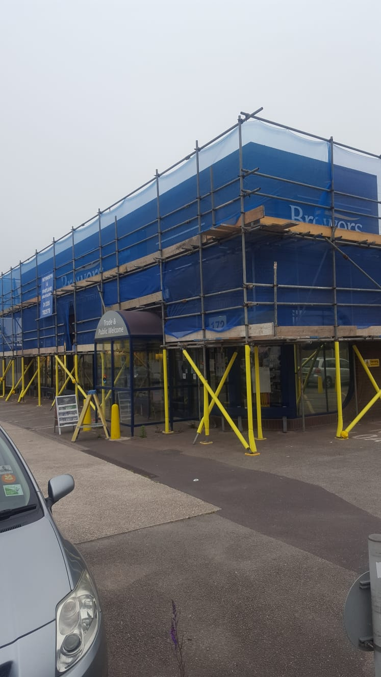 Scaffolding hire at Brewers