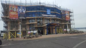 Scaffold in weymouth